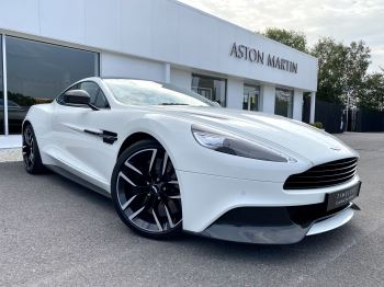 Aston Martin Vanquish V12 [568] 2+2 2dr Touchtronic III, Rare Carbon Edition, Stratus White And Obsidian Black Leather. 5.9 Automatic 3 door Coupe