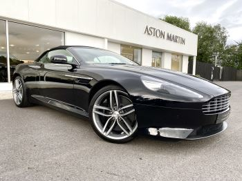 Aston Martin Virage V12 2dr Volante Touchtronic, Onyx Black And Sandstorm Leather Upholstery, Full Aston Martin History. 5.9 Automatic 3 door Convertible