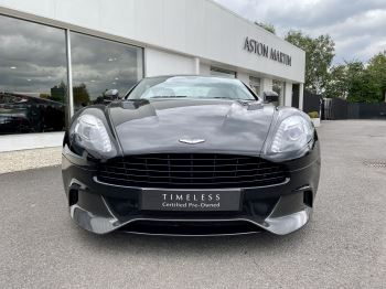 Aston Martin Vanquish V12 [568] 2+2 2dr Touchtronic 3 8 Speed, 2 Owners From New, Onyx Black, Bang And Olufsen. image 2 thumbnail