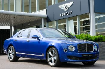 Bentley Mulsanne Speed 6.8 V8 Speed - Speed Premier and Entertainment Specification Automatic 4 door Saloon