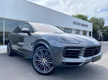 Porsche Cayenne Cayenne Coupe 3.0 V6 E-Hybrid 5dr Tiptronic S Quartzite Grey and Cohiba brown two tone leather. 2995.0 Petrol/Electric Automatic Estate image