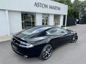 Aston Martin Rapide S V12 [552] 4dr Touchtronic III 8 Spd, Onyx Black And Obsidian Black Leather, Rear Seat Entertainment. image 10 thumbnail