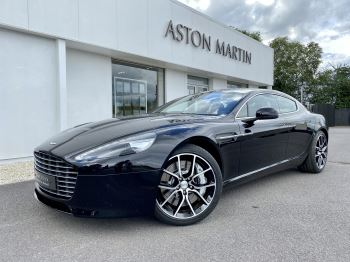 Aston Martin Rapide S V12 [552] 4dr Touchtronic III 8 Spd, Onyx Black And Obsidian Black Leather, Rear Seat Entertainment. image 3 thumbnail
