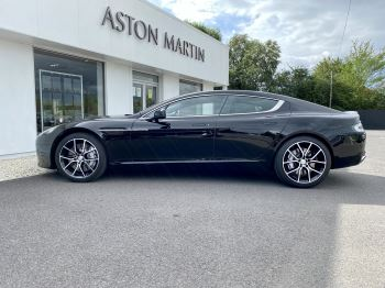 Aston Martin Rapide S V12 [552] 4dr Touchtronic III 8 Spd, Onyx Black And Obsidian Black Leather, Rear Seat Entertainment. image 4 thumbnail