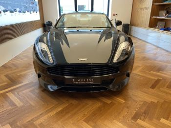 Aston Martin Vanquish V12 2+2 Touchtronic Pentland Green Special Paint  5.9 Automatic 2 door Coupe