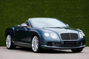 Bentley Continental GTC 6.0 W12 Speed - Massage Seats & Ventilation - Neck Warmer - Rear View Camera image 1 thumbnail