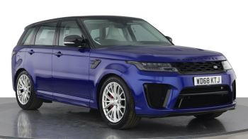 Land Rover Range Rover Sport 5.0 V8 S/C 575 SVR 5dr Adaptive Cruise Control with Stop & Go Heated steering wheel Automatic 4x4