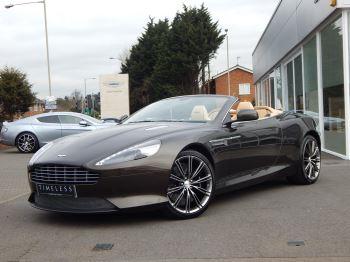 Aston Martin DB9 V12 Volante Touchtronic 5.9 Automatic 2 door Convertible
