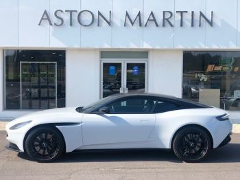Aston Martin DB11 V8 Touchtronic.Heated Steering Wheel . Smoked rear lamps . Heated & Ventilated seats 4.0 Automatic 2 door Coupe