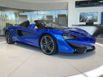 McLaren 570S Spider V8 SSG 1 OWNER, LUXURY AND SECURITY PACK BY DESIGN INTERIOR 3.8 Automatic 2 door Convertible