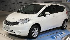 Nissan New Note Visia Limited Edition