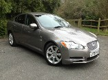 Jaguar XF 3.0d V6 Luxury 4dr Auto with Touch Screen Sat-Nav Diesel Automatic Saloon (2009) image