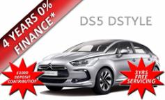 Citroen DS5 DStyle 2.0 HDi Airdream Hybrid4 200PS