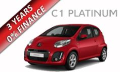 Citroen C1 Platinum 1.0 68PS 5dr