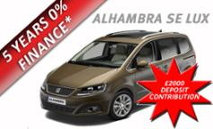 Seat Alhambra SE Lux 2.0 TDI 177PS 5dr