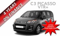 Citroen C3 Picasso VTR+ 1.4 VTi 95PS