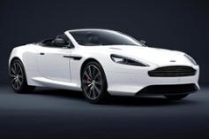 Aston Martin DB9 Carbon Edition White Volante