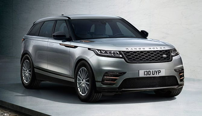 Land Rover RANGE ROVER VELAR 2.0 P300 R-Dynamic 5dr Auto thumbnail image