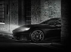 Aston Martin Vanquish Carbon Edition Black Volante
