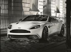 Aston Martin Vanquish Carbon Edition White Volante
