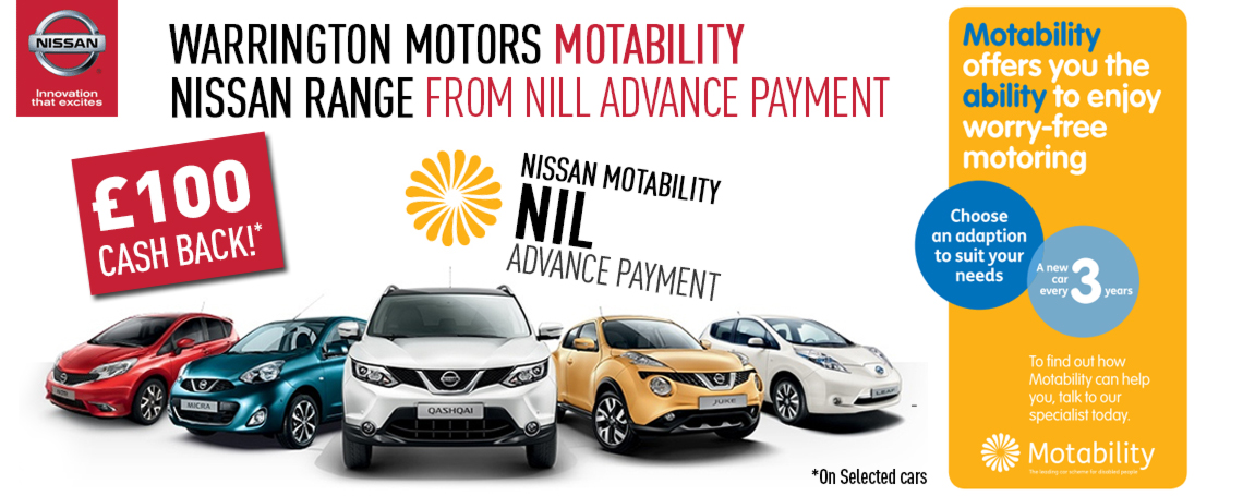 Nissan Motability Offers | Motorparks - Nissan