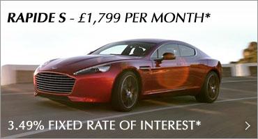Aston Martin Rapide Promotion