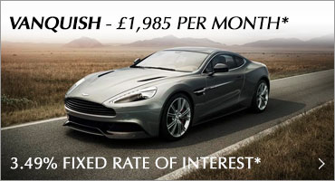 Aston Martin Vanquish V12 Promotion