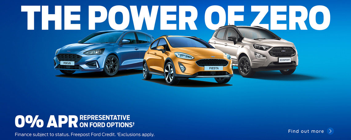 0% APR Representative Ford Car Offers