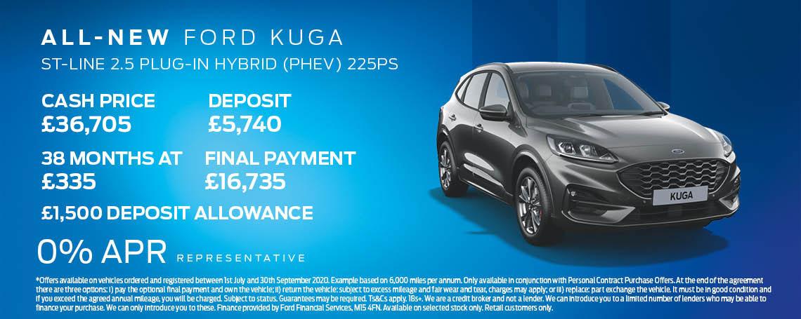 New Ford Kuga Offer