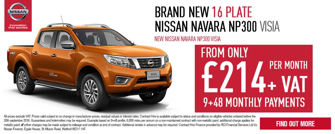 New Nissan Navara Offer