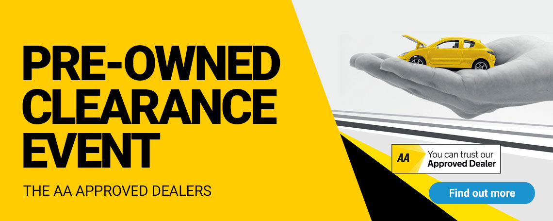 Pre-Owned Clearance Event - Massive Savings on Used Cars