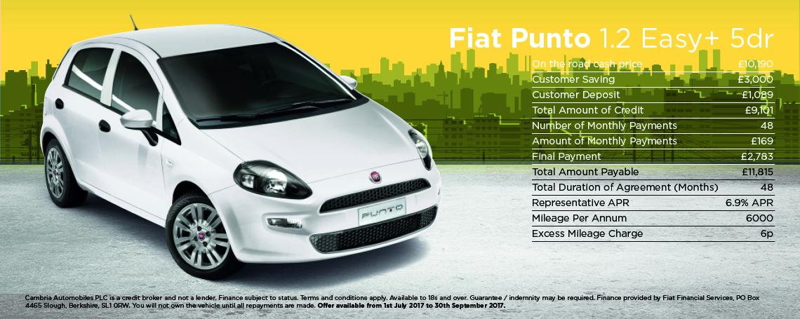 Fiat Punto Easy Plus 1.2