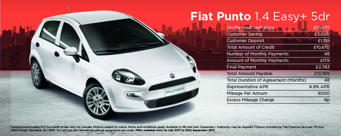 Fiat Punto Easy Plus 1.4