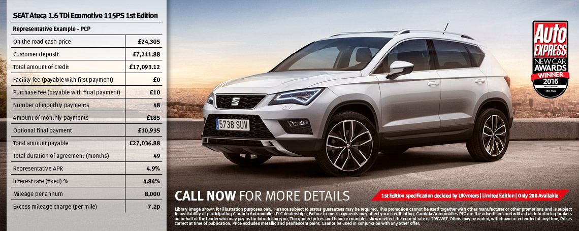 Ateca First Edition Offer