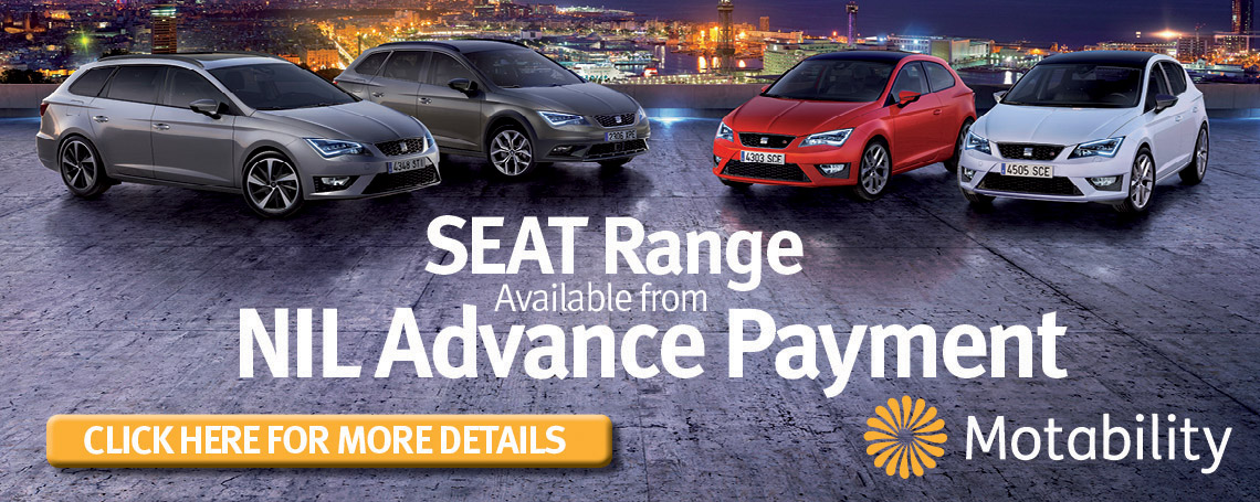 SEAT Motability offer