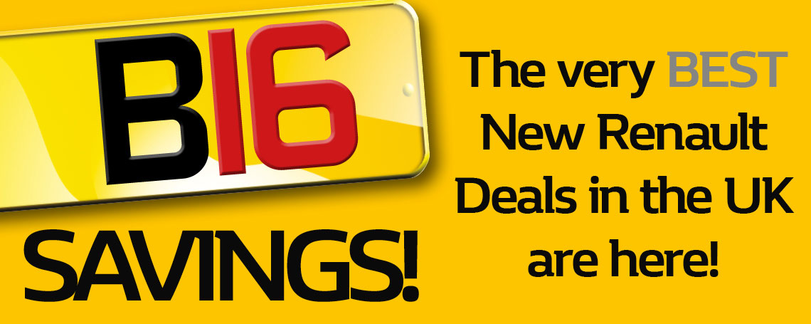 16 Plate banners Renault
