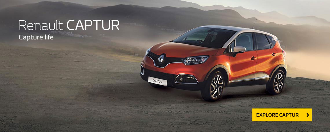 New Renault Captur Offer