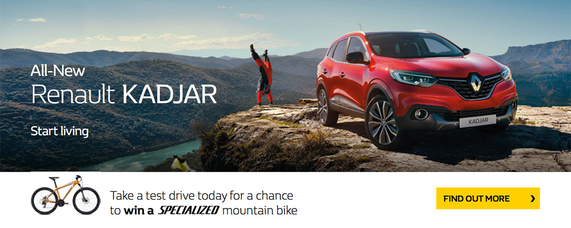 New Renault Kadjar Offer