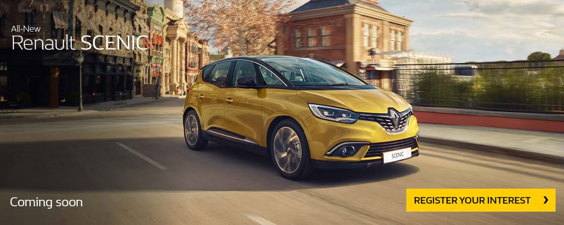 New Renault Scenic Offer
