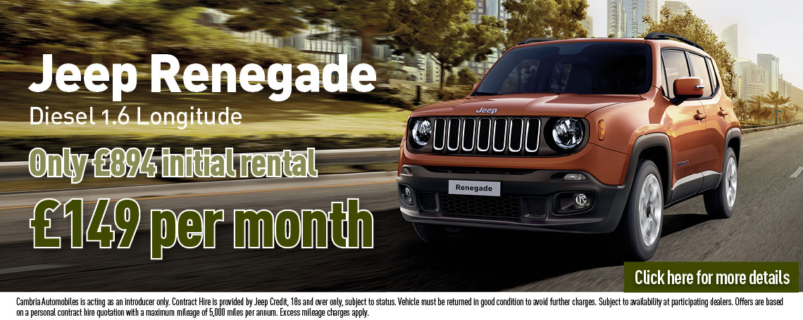 New Jeep Renegade Offer