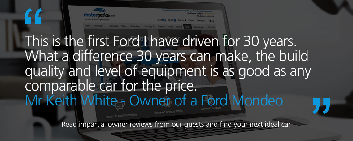 Ford Mondeo Owner Reviews