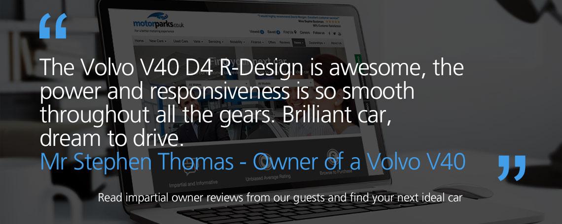 Volvo V40 Owner Reviews