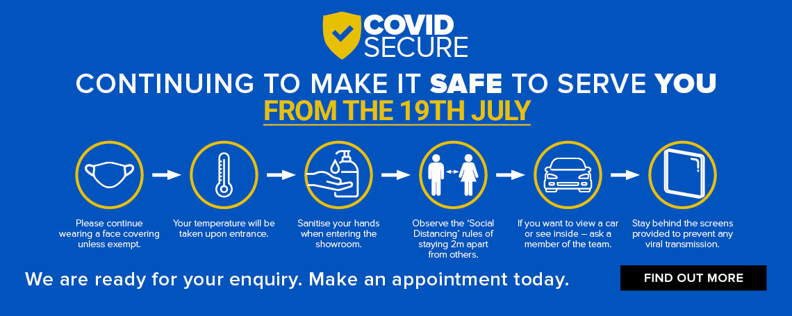 COVID-19: Making it safe to serve you at our car dealerships