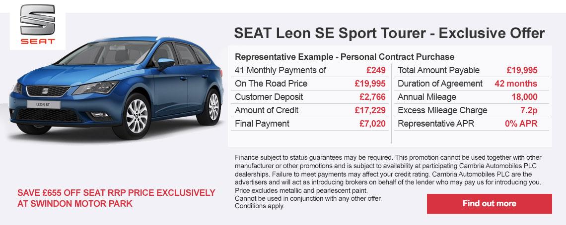 New SEAT Leon Offer