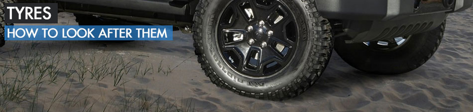 Tyres - How to check and maintain them