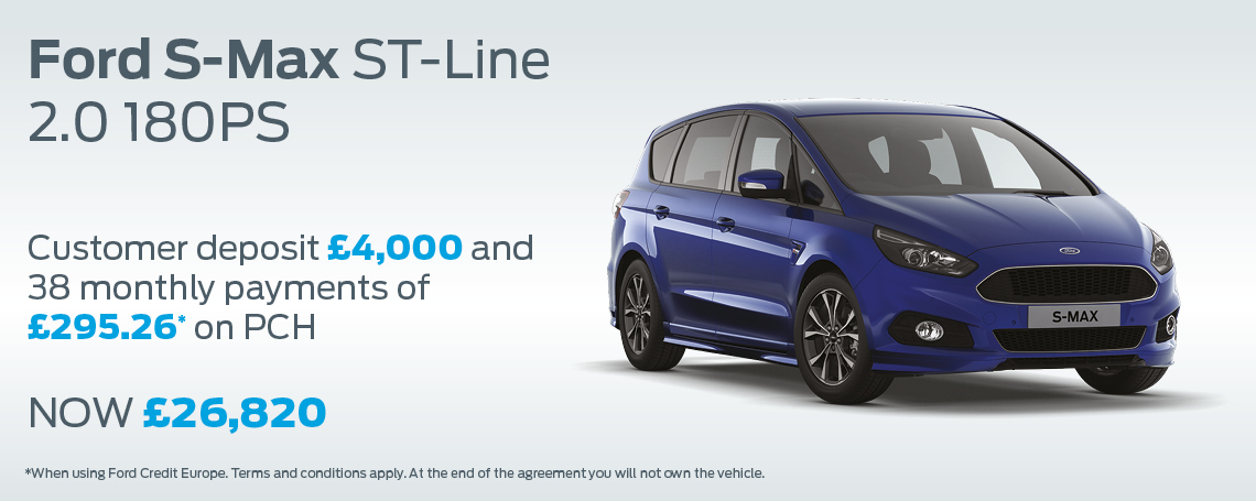 Ford Test Drive Brentwood >> New Ford S-Max Cars | Motorparks