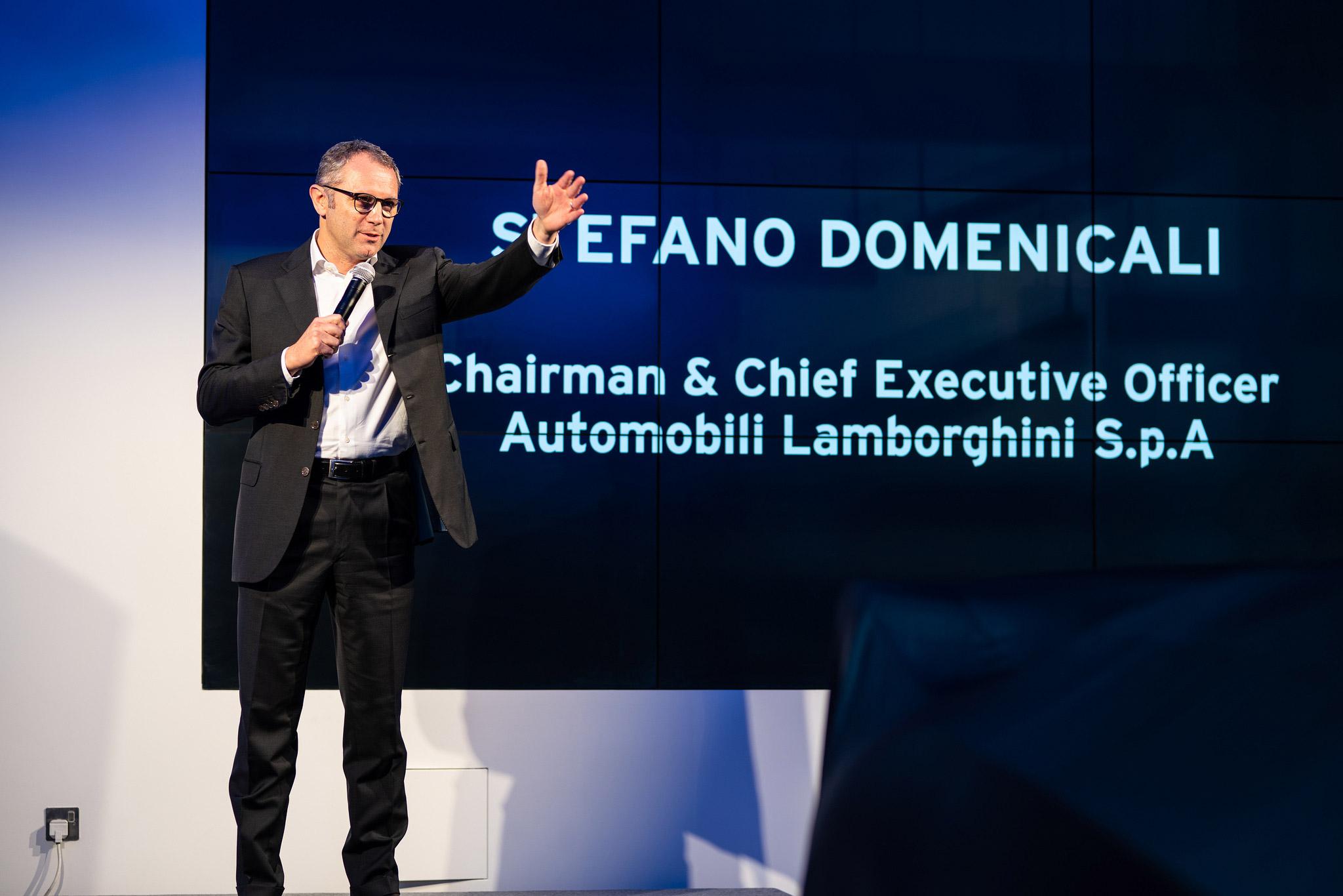 Stefano Domenicali - Chairman and CEO of Automobili Lamborighini