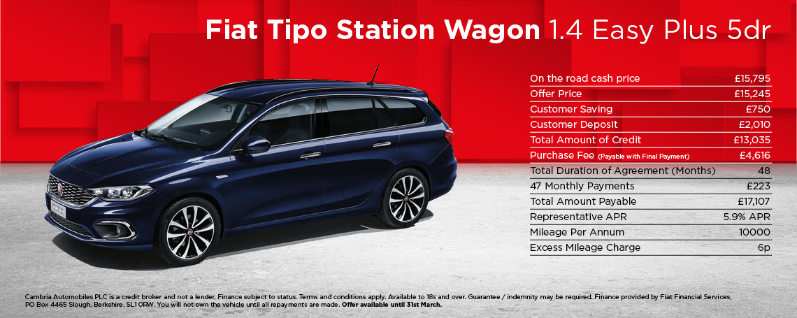 Fiat Tipo Estate Easy+