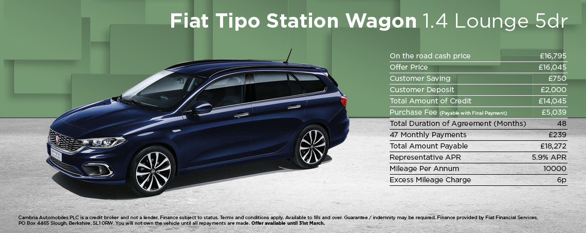 Fiat Tipo Estate Lounge