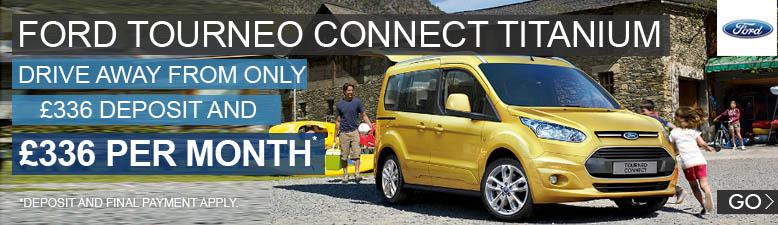 Ford Tourneo Connect Titanium Auto